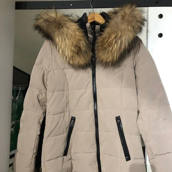 Women's medium length winter coat